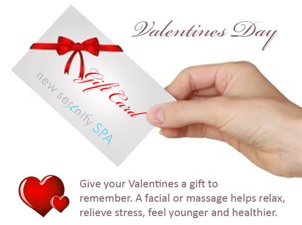 Facials and massage scottsdale - new serenity spa valentines day