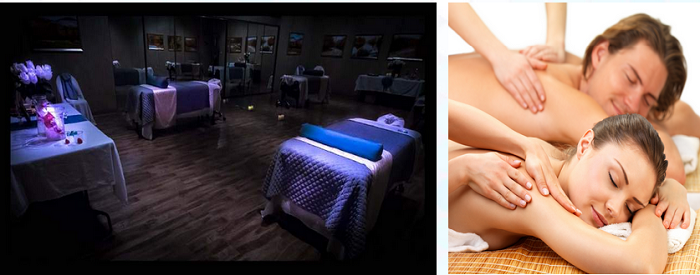Couples massage new serenity spa