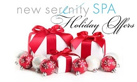 Holiday Special Offers - Gift Cards - New Serenity Spa