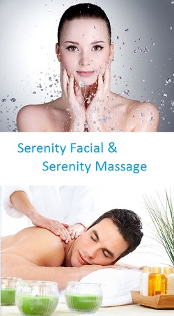 Sereity Facial and Serenity Massage Package