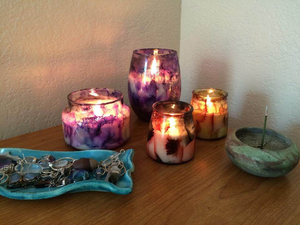 Verder Scent Hand-painted Candles Phoenix - New Serenity Spa